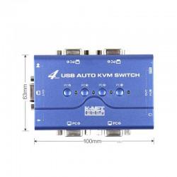 سوئیچ چهار پورت VGA KVM کی نت پلاس USB