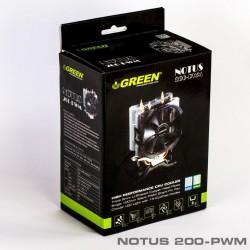 سیستم خنک کننده بادی گرین مدل NOTOUS 100PWM