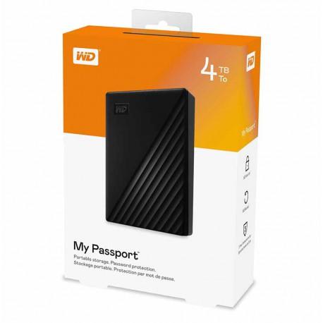 هارد اکسترنال وسترن دیجیتال  مدل My Passport ظرفیت 4 ترابایت